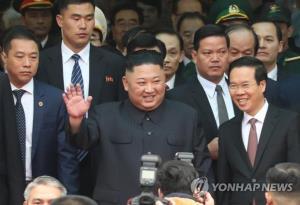 Khác với thông lệ, báo chí Triều Tiên đã đưa tin rất sát về chuyến đi của Chủ tịch Kim Jong un tới Việt Nam.