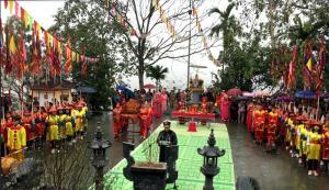 Lễ hội đền Mẫu Thác Bà hàng năm thu hút đông đảo nhân dân và du khách thập phương tham dự.