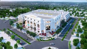 Trung tâm thương mại Vincom Plaza Lý Bôn và nhà phố thương mại Vincom Shophose Thái Bình.