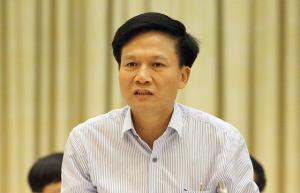 Phó Tổng Thanh tra Chính phủ Bùi Ngọc Lam tại cuộc họp báo.