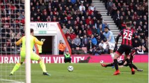 Mahrez ghi bàn duy nhất giúp Man City có chiến thắng.