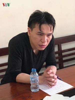 Châu Việt Cường tại cơ quan điều tra