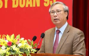 Đồng chí Trần Quốc Vượng, Ủy viên Bộ Chính trị, Thường trực Ban Bí thư.