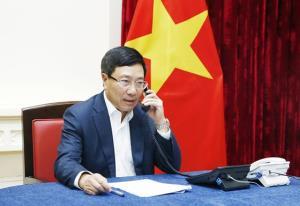 Phó Thủ tướng, Bộ trưởng Bộ Ngoại giao Phạm Bình Minh.