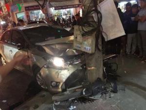 Vụ tai nạn khiến 1 nạn nhân tử vong, 1 người bị thương nặng.