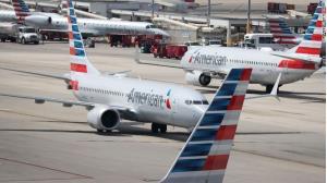 Các máy bay Boeing 737 Max của hãng hàng không American Airlines.