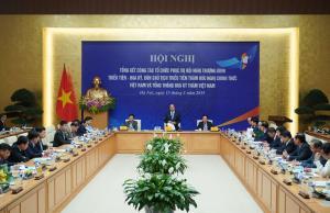 Hội nghị tổng kết công tác tổ chức phục vụ Hội nghị Thượng đỉnh Hoa Kỳ-Triều Tiên.