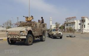 Binh sỹ ủng hộ chính phủ Yemen tại thành phố cảng Hodeida ngày 29/12/2018.