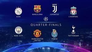 8 đội bóng góp mặt tại tứ kết Champions League 2018/19