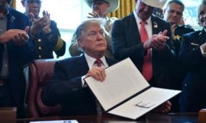 Tổng thống Trump cho biết, việc ông phủ quyết Nghị quyết Quốc hội về chấm dứt tình trạng khẩn cấp là để bảo vệ an toàn cho người dân Mỹ.