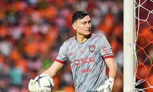 Văn Lâm thi đấu ổn định trong màu áo Muangthong United