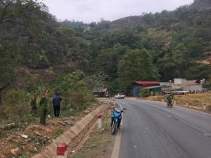Đoạn đường xảy ra tai nạn