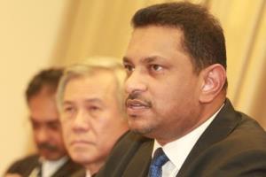 Tân chủ tịch Hội Luật sư Malaysia Abdul Fareed Abdul Gafoor.