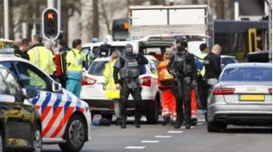 Cảnh sát được tăng cường tại thành phố Utrecht.
