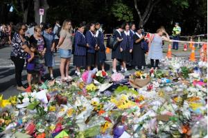 Tưởng niệm các nạn nhân trong vụ xả súng tại Christchurch, New Zealand, ngày 20/3/2019.