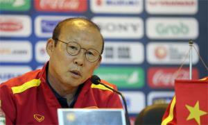 HLV Park Hang-seo cho rằng bảng K gồm toàn các đối thủ ở Đông Nam Á, cùng khu vực nên sẽ đá máu lửa hơn vì tự trọng.