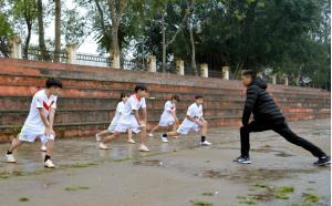 Các VĐV đoàn Văn Yên tích cực tập luyện để đạt thành tích cao trong mùa giải năm 2019.
