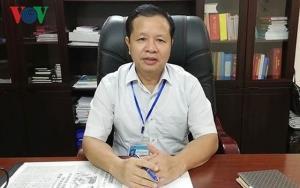 Ông Bùi Trọng Đắc, Giám đốc Sở GD-ĐT tỉnh Hòa Bình.