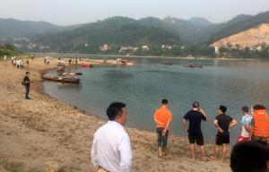 Khu vực nơi 8 học sinh bị đuối nước.