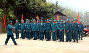 Nâng cao chất lượng huấn luyện lực lượng dân quân, tự vệ góp phần củng cố vững chắc khu vực phòng thủ huyện Trạm Tấu.