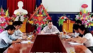 Ban Chấp hành Đảng bộ Trung tâm Y tế Trấn Yên họp bàn giải pháp triển khai thực hiện Nghị quyết Trung ương 4 (khóa XII) gắn với Chỉ thị 05 của Bộ Chính trị.