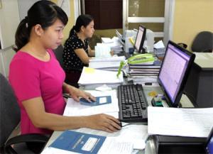 100% cán bộ, công chức viên chức BHXH tỉnh Yên Bái sử dụng thành thạo công nghệ thông tin phục vụ công tác chuyên môn.
