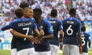 Pháp được đánh giá cửa trên với những ngôi sao như Griezmann, Mbappe và Pogba