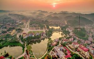 Thành phố Yên Bái ngày càng phát triển, hướng đến một đô thị năng động, hiện đại. Ảnh: Hoàng Đô
