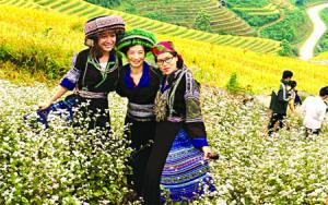 Danh thắng quốc gia Ruộng bậc thang là niềm tự hào của Mù Cang Chải - Yên Bái, là điểm đến hấp dẫn của du  khách trong và ngoài nước.