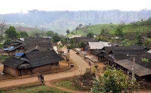 Toàn cảnh thôn Bu Cao hôm nay.