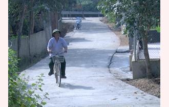 Yên Bình phát huy nội lực xây dựng nông thôn mới