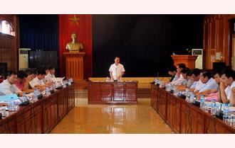 Xây dựng Đề án đưa huyện Trấn Yên cơ bản đạt tiêu chí huyện nông thôn mới vào năm 2020