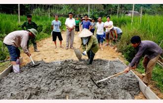Vĩnh Lạc phấn đấu hoàn thành xây dựng nông thôn mới