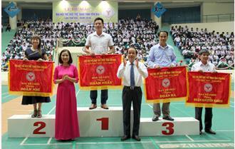 Bế mạc Đại hội TDTT tỉnh Yên Bái lần thứ VIII: Đoàn Sở Giáo dục và Đào tạo nhất toàn đoàn