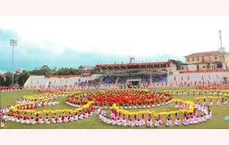 Khai mạc Đại hội Thể dục thể thao tỉnh Yên Bái lần thứ VIII, năm 2018