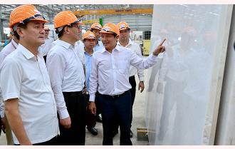Đoàn công tác tỉnh Vân Nam (Trung Quốc) khảo sát tiềm năng, cơ hội đầu tư vùng hồ Thác Bà, huyện Yên Bình