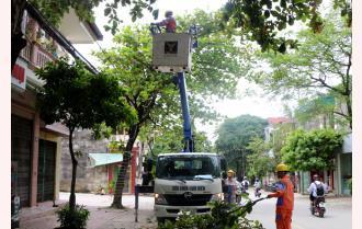 Điện lực Yên Bái đảm bảo cung ứng điện an toàn mùa mưa bão