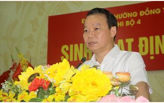 Bí thư Tỉnh ủy Đỗ Đức Duy dự sinh hoạt tại Chi bộ Tổ dân phố số 4, phường Đồng Tâm, thành phố Yên Bái