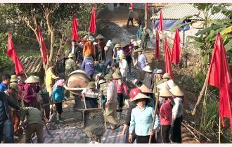 Văn Chấn: Đoàn kết, đồng thuận xây dựng nông thôn mới