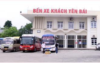 Yên Bái: Ngày đầu thí điểm vận tải liên tỉnh
