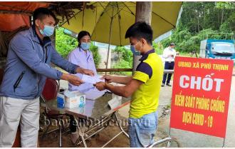 Yên Bái siết chặt cửa ngõ vùng giáp ranh Phú Thọ