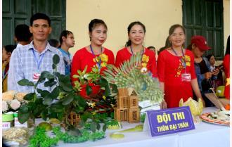 Yên Bình: Hấp dẫn Hội thi bóc bưởi, trình bày bưởi năm 2019