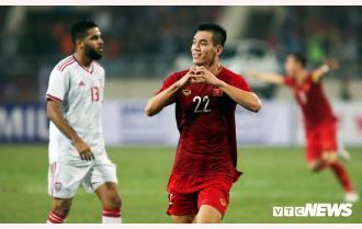 Tiến Linh ghi bàn thắng duy nhất, tuyển Việt Nam lên ngôi đầu bảng