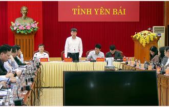 Họp thành viên UBND tỉnh Yên Bái tháng 11: Nỗ lực tối đa, tập trung cao độ hoàn thành toàn diện nhiệm vụ phát triển kinh tế - xã hội năm 2020