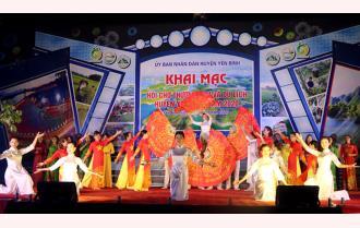 Khai mạc Hội chợ Thương mại - Du lịch huyện Yên Bình năm 2020: Đặc sắc, hấp dẫn