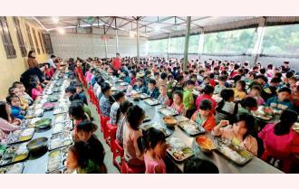 Trạm Tấu nâng cao chất lượng giáo dục bán trú