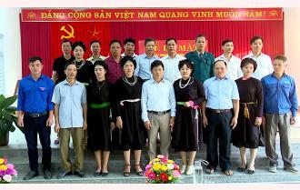 Khánh Thiện ra mắt xây dựng xã văn hoá nông thôn mới