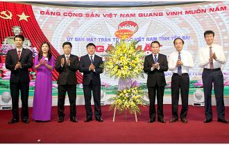 Yên Bái: Gặp mặt kỷ niệm 90 năm Ngày truyền thống Mặt trận Tổ quốc Việt Nam