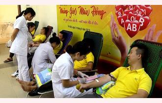 Yên Bái đẩy mạnh phong trào hiến máu tình nguyện