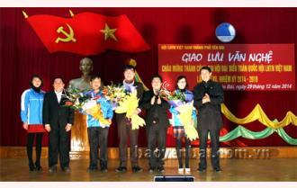Chào mừng thành công Đại hội đại biểu toàn quốc Hội LHTN Việt Nam lần thứ VII